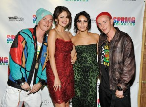 Spring Breakers' Twins with Gomez & Hudgens