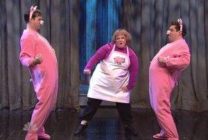 """Taran Killam, McCarthy, Bobby Moynihan 'Ham"""" Dancing"""